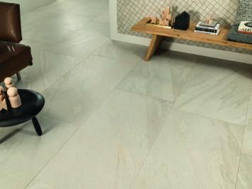 Zona cucina loft open space ceramiche mangiacapra