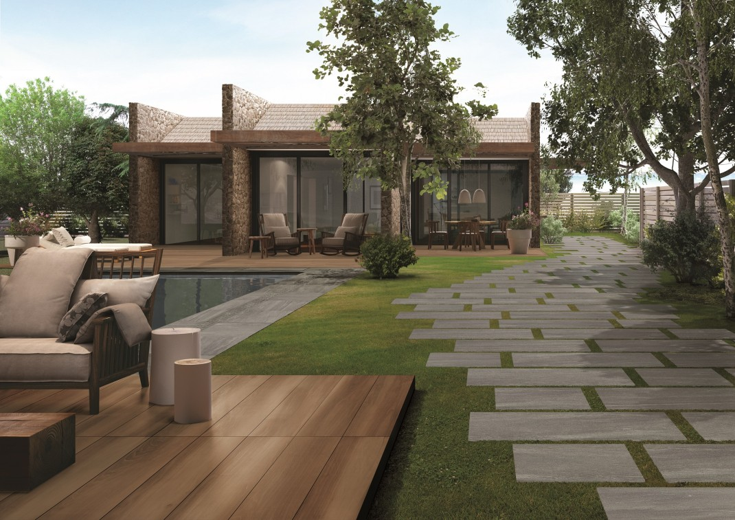 terrassenplatten by caesar | cs international ceramic & stone by